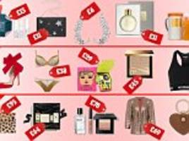 From dazzling party dresses to A-list approved face creams: The ultimate Christmas gift guide for EVERY woman in your life (no matter what your budget)