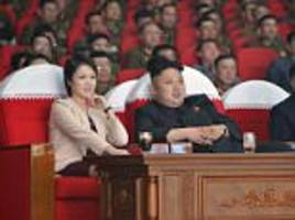 kim jong-un's wife spotted seven months after disappearing from public view