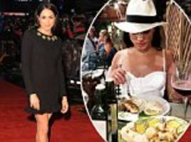What Prince Harry's girlfriend Meghan Markle REALLY eats to stay in shape - and it includes plenty of pasta and red wine