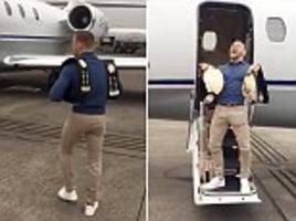 Conor McGregor news: UFC star shows off TWO belts amid new Game of Thrones rumours