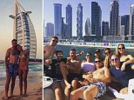england cricket stars enjoy time off in dubai between india tests as they gear up to try and rescue series