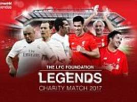 Liverpool Legends to face Real Madrid in charity match but will Steven Gerrard make his Anfield return?