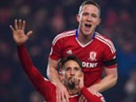 middlesbrough 1-0 hull: gaston ramirez's header sends mike phelan's men back to yorkshire with little festive cheer