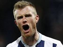 west brom aim to tie chris brunt to new contract after sparkling return to form