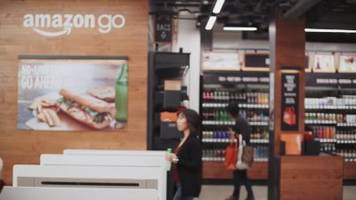 this is amazon's grocery store of the future: no cashiers, no registers, and no lines (amzn)