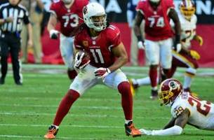 Arizona Cardinals: Larry Fitzgerald moves up the list
