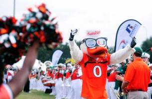 Miami Hurricanes-West Virginia in Russell Ath Bowl Dec 28