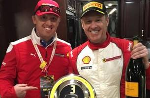 rusty wallace enjoys successful 'out of the box' experience at daytona ferrari event