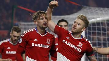 middlesbrough 1-0 hull city
