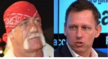 Peter Thiel Went to Costume Party Dressed as Hulk Hogan Because He Could