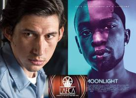 Adam Driver Wins Best Actor at 2016 L.A. Film Critics Awards, 'Moonlight' Is Best Picture