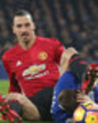 Zlatan Ibrahimovic will NOT face FA action for kicking Seamus Coleman in the head