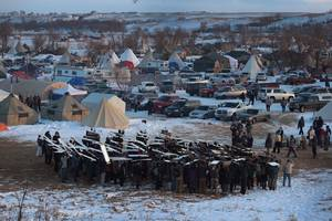 Dakota Access Pipeline operator lashes out at decision to halt construction