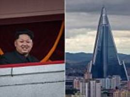 north korea's ryugyong hotel prepares for business in pyongyang