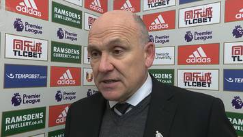 middlesbrough 1-0 hull city: ridiculous goal cost us - mike phelan