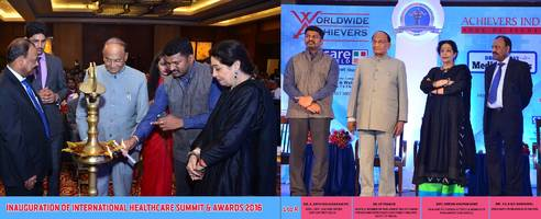 worldwide achievers felicitated the winners of international healthcare summit & awards 2016