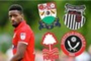 grimsby town boss marcus bignot on omar bogle and danny collins