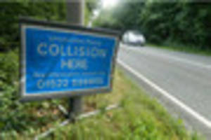 two-car crash blocks off a151 in lincolnshire town
