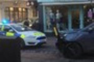 Man and woman charged over police chase through Dorking