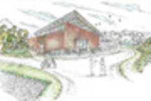 calke abbey reveals images for new outdoor hub