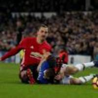 Zlatan Ibrahimovic denies deliberately kicking Seamus Coleman in the head