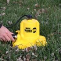 wayne pumps' wwb waterbug submersible pump: a powerful tool for removing standing water where mosquitos can breed