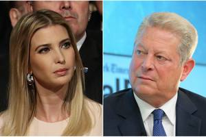 ivanka trump meets with former vice president al gore