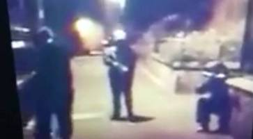 video: shocking footage shows dissidents armed with rocket launchers roaming belfast streets