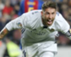 from 92:48 to 92:34 and now 89:49 - sergio ramos is real madrid's man for the big occasion