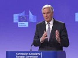 eu's top negotiator says there must be a brexit deal by october 2018 and warns the terms will be worse than we have now