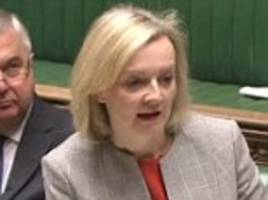 liz truss says barking dogs are used to deter drones from flying drugs into prisons