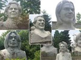 South Korea sculpture garden holds terrible statues of famous people
