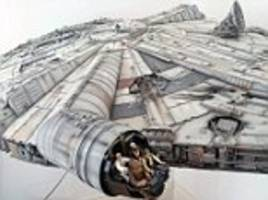 Star Wars superfan completes replica of Millennium Falcon after TEN YEARS