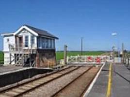 The rail station that passengers forgot! Just TWELVE people use sleepy Shippea Hill in an entire YEAR