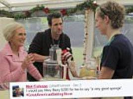 US Great British Bake Off viewers go crazy for Mary Berry's accent