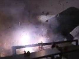 Woman lights firecrackers on her boyfriend's BED while he is 'sleeping'