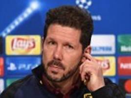 atletico madrid manager diego simeone: i have no problem with my son giovanni saying i will someday be boss of inter milan... because i will be