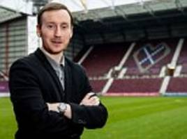 hearts boss ian cathro says club is 'the right place' to begin his managerial career