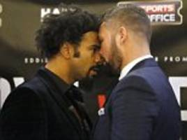 Tony Bellew mocks David Haye over his interest in switching to MMA