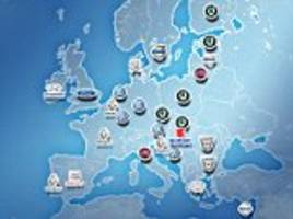 what are the best-selling cars in europe's different countries?