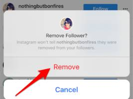 you can now remove followers on instagram and will soon be able to turn off commenting too (fb)