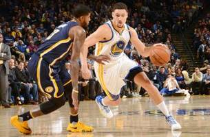 klay thompson scores a career-high 60 points in warriors blowout win over pacers
