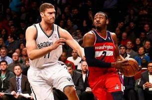 nets' first half magic diminishes against wizards