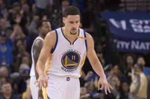 a funny oddity of klay thompson's 60 point night