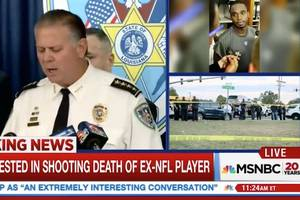 MSNBC Cuts From Joe McKnight Press Conference When Sheriff Drops Homophobic, Racial Slurs (Video)