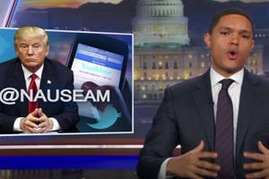 trevor noah says don't fear donald trump, be afraid of 'people who enable him' (video)