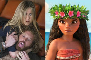 will 'office christmas party' wrestle down 'moana' at weekend box office?