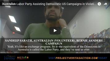 Bernie Camp Threatens To Sue Project Veritas After Video Revealed Egregious Violation Of Campaign Finance Law