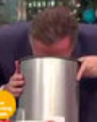 Piers Morgan vomits on Good Morning Britain after watching Madonna twerking
