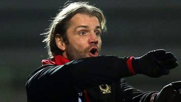 checkatrade trophy: mk dons cause upset in robbie neilson's first game